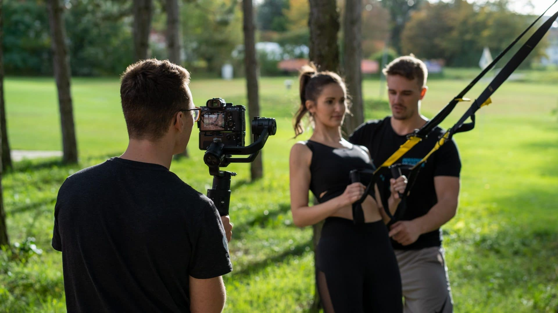 Outdoor Workout mit Flo Ulbig
